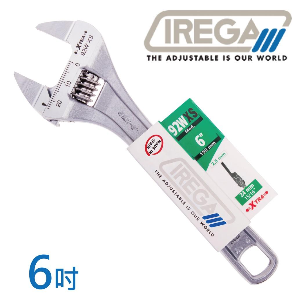 【IREGA】92wxs超超薄型活動板手-6吋