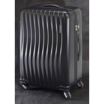 スーツケース 89L FREQUENTER(フリエンクター) WAVE(ウェーブ) マットブラック 1-624 [TSAロック搭載]