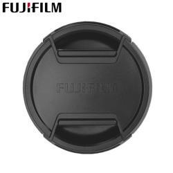 富士原廠Fujifilm鏡頭蓋62mm鏡頭蓋FLCP-62 II鏡頭前蓋Lens Cap(中捏快扣鏡頭保護蓋)