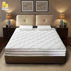 ASSARI-瑪爾斯真四線防潑水乳膠獨立筒床墊(雙人5尺)
