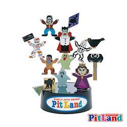 日本PitLand-日製磁鐵趣味玩具(西洋鬼怪)