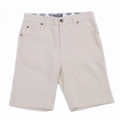 【DICKIES】WDPWS802 中低腰窄版斜紋布 工作短褲 (卡其色) 化學原宿
