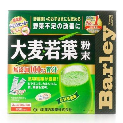 日本 大麥若葉 粉末- 附搖杯 (3g*176包) 無添加 100% 青汁
