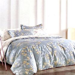 【情定巴黎】曼迪卡特 100%精梳純棉雙人四件式床包被套組-獨立筒適用