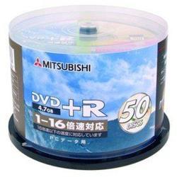 三菱 國際版 16X DVD+R 4.7GB燒錄片(100片)