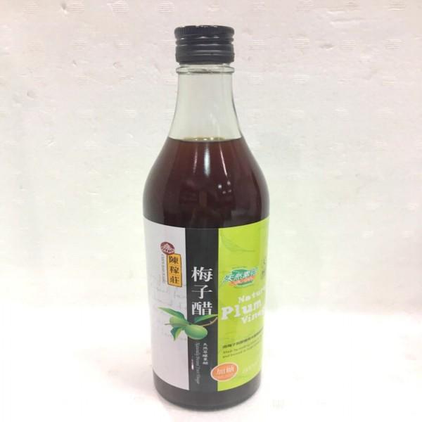 陳稼莊~梅子醋(加糖)600ml/罐