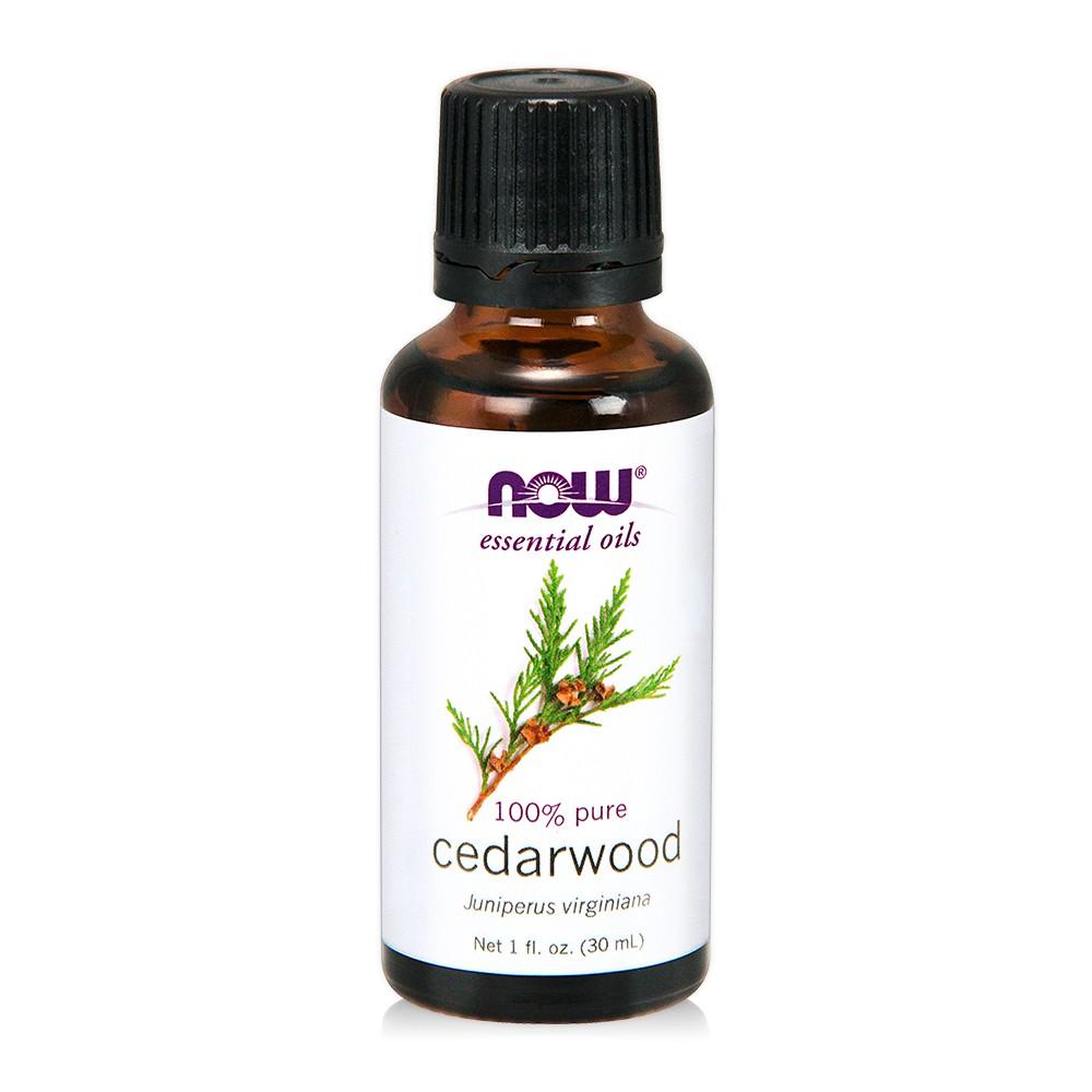 【NOW】Cedarwood Oil 純雪松精油(30 ml) Now foods/榮獲美國總統獎/美國原瓶原裝/香氛/