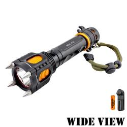 WIDE VIEW 大黃蜂T6戰術防衛手電筒組 NZL-A14-A
