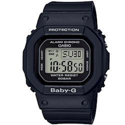 【CASIO】BABY-G 街頭時尚休閒概念錶-黑 (BGD-560-1)