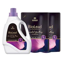台塑生醫 BioLead經典香氛洗衣精 花園精靈x1瓶+2包