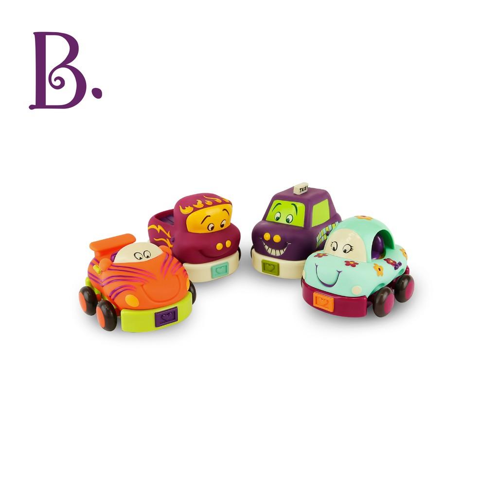 B.Toys 寶寶迴力車(芽綠) 玩具 模型 小朋友 車