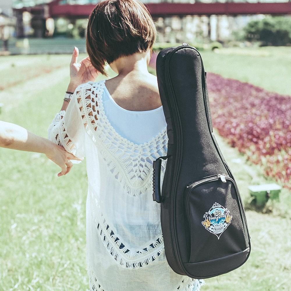Koyama 20mm厚 刺繡袋 烏克麗麗袋 烏克麗麗背袋 烏克麗麗琴袋 21吋/23吋/26吋 多尺寸【全館折300】