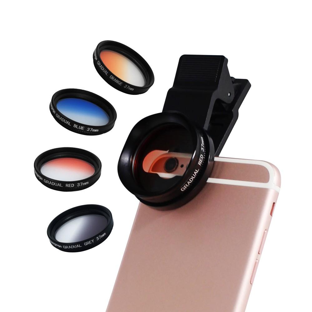 [免運] Bomgogo Govision CF1 可調式超薄漸層彩色濾鏡組(37mm)