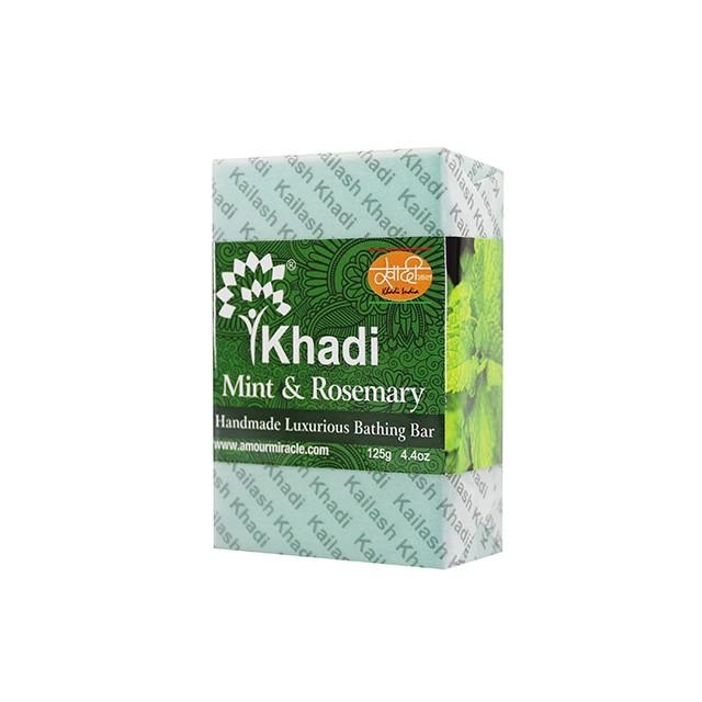 Kailash Khadi 草本手工皂 - 薄荷迷迭香