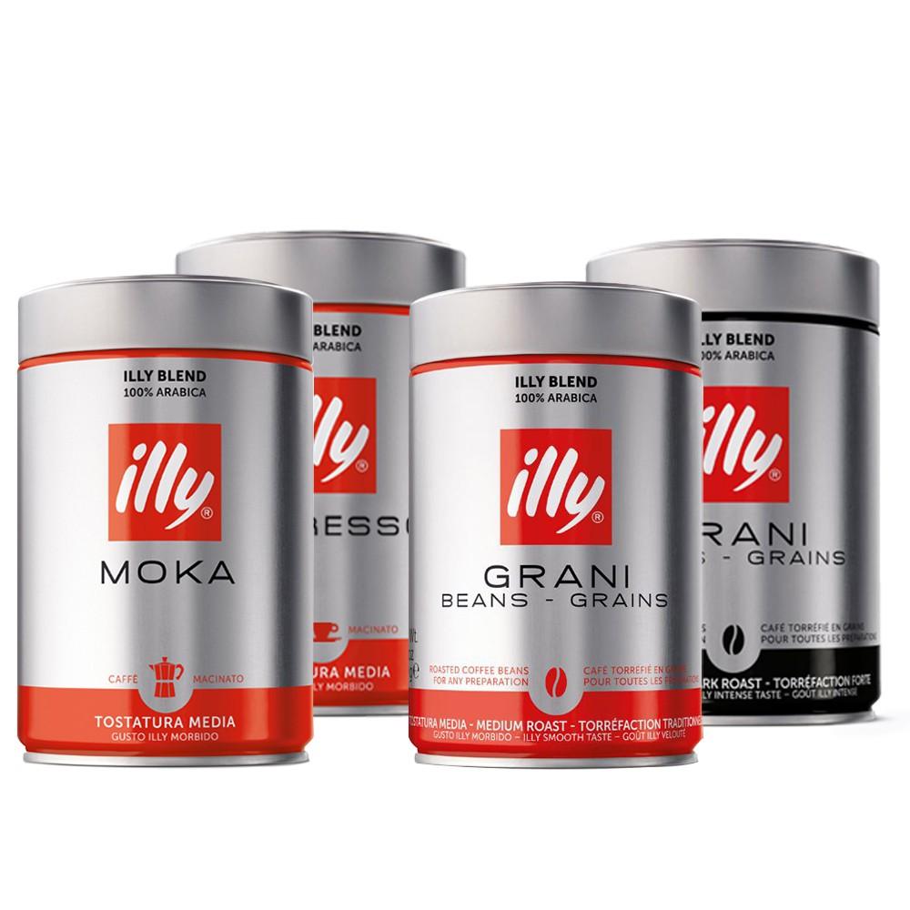 好康預購價 illy 品牌 義大利illy咖啡 是世界上少有的只生產單一配方口味咖啡的產品 至今已有70多年前都沒改變 並且還會一直堅持下去 ─────────────────────────────