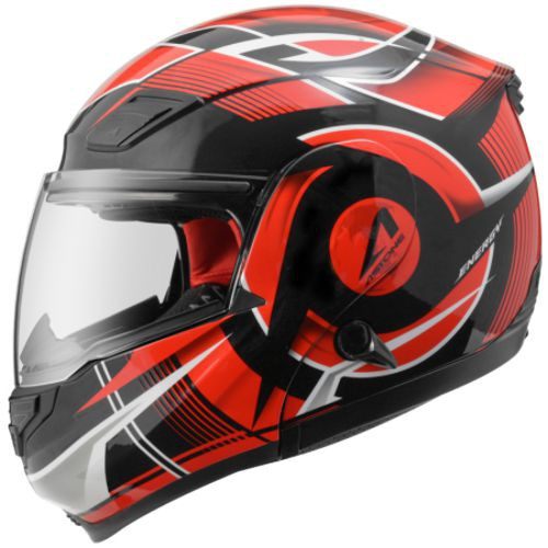ASTONE RT1100 黑/GG20紅 內墨鏡 可掀式 通風透氣 吸濕排汗 全罩 安全帽《比帽王》