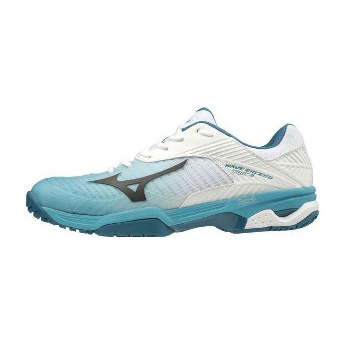 MIZUNO 19SS 男網球鞋 EXCEED TOUR 3 AC 61GA187035 贈運動襪【樂買網】