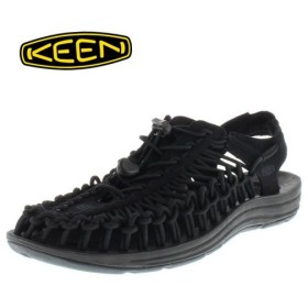 KEEN メンズ サンダル UNEEK Monochrome 1014097 11-10140 Black/Black