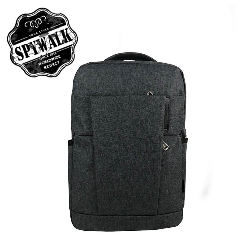 SPYWALK 休閒街頭雙肩包 NO S5287 休閒包 後背包 街頭時尚包 雙頭USB和耳機孔