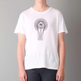 Tシャツ Line Art001(TRUSS ヘビーウェイトTシャツで)