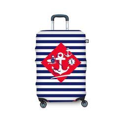【BG Berlin】行李箱套-航海風情 S (適用17-21吋行李箱)