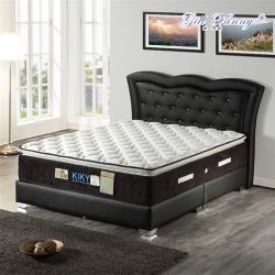 KIKY 姬梵妮二代永恆之星護背機能型彈簧床墊-雙人5尺