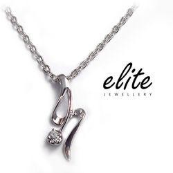 【Elite 伊麗珠寶】925純銀項鍊 輕淑女系列 - 復刻記憶