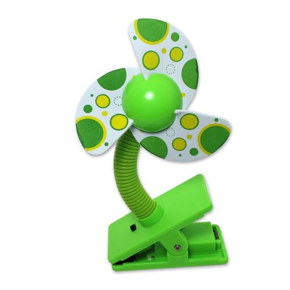 元氣寶寶 繽紛安全涼風扇 可換電池夾扇 夾式娃娃車推車風扇 迷你桌扇 嬰兒車夾式電風扇 USB小風扇