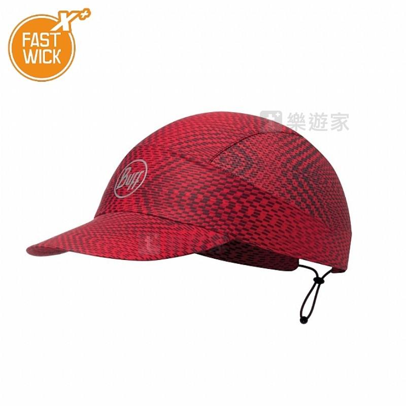 [款式:BF113705-425-10-00] BUFF 紅莓果醬 FASTWICK極速排汗遮陽帽