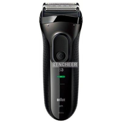 德國百靈 BRAUN 新升級三鋒系列電鬍刀 黑 3020s-B