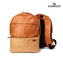 CORCO 軟木雙肩後背包-棕色