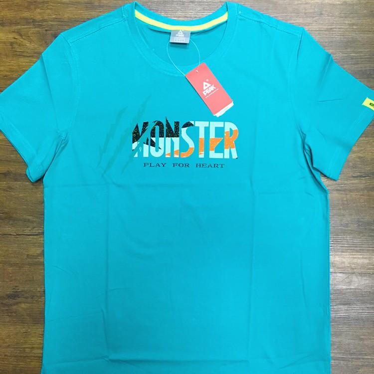 PEAK 運動上衣 猛獸系列 T恤 藍 亮禹體育PEAK台灣經銷商