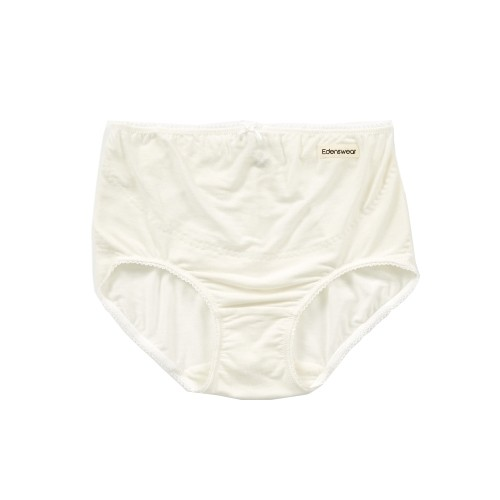 Edenswear 伊登詩 - 鋅纖維抗敏衣系列-孕媽咪抗菌除臭內褲-米白