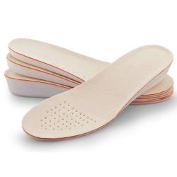 (預購)【JHS杰恆社】壹對吸汗大豆纖維內增高鞋墊優質透氣運動增高鞋墊RAKASO諾喀索口LS29