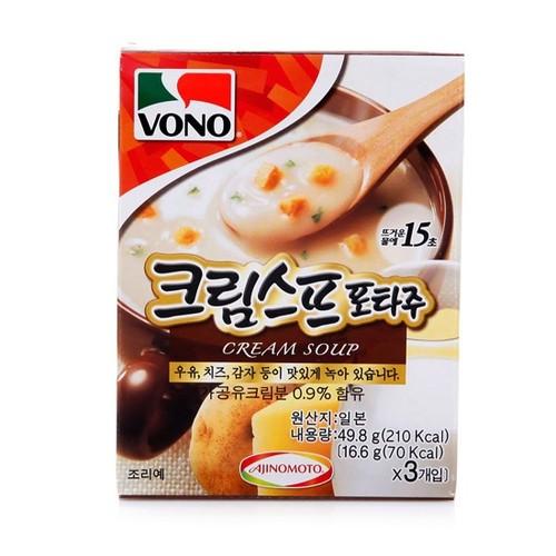 [VONO] 馬鈴薯濃湯(16.6g*3包) 49.8g [韓國直送]