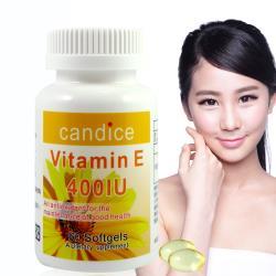 Candice 康迪斯 優質生活維生素E膠囊60顆