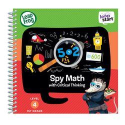 美國【LeapFrog 跳跳蛙】LeapStart Sr.全英兒童行動學習書籍 兒童7- 數學小偵探