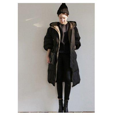 韓國連線 羽絨外套 防風外套 連帽外套 長版外套 大衣 夾克 外套 大衣 上衣 女生衣著 披風 韓版 衣服 女裝 韓妞