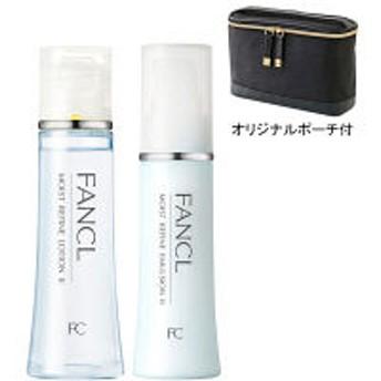 【ロハコ限定】FANCL(ファンケル) モイストリファインセット(しっとり) オリジナルスリムバニティポーチ付き