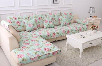 【RS Home】70x210cm沙發墊沙發巾沙發罩床墊床前墊床旁電視櫃墊客廳地墊 [宮廷風]