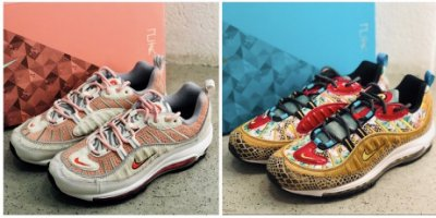 "wholesale dealer 3f64d d371e 全新 Nike Air Max 98 ""What The Chinese New Year"" BV6653-616"