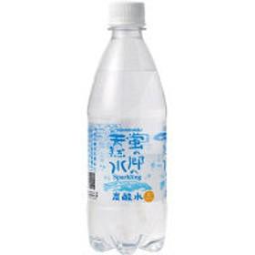 友桝飲料 蛍の郷の天然水スパークリング 500ml 1セット(6本)