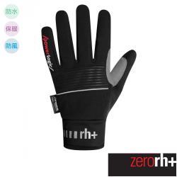 ZeroRH+ 義大利 NORDIC OUTDRY 專業撥水保暖自行車手套 ●螢光黃、黑色● ICX9165