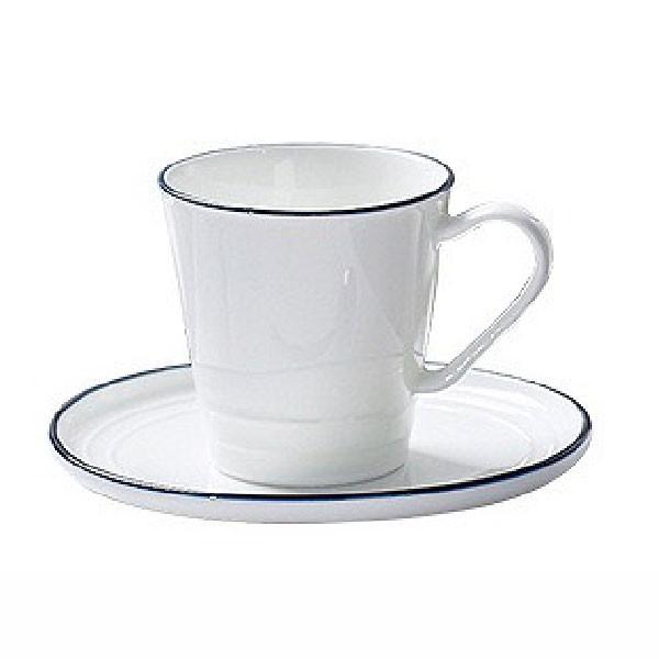 原點居家創意咖啡杯馬克杯創意簡約北歐杯子陶瓷藍線馬克杯辦公室個性家用200ml