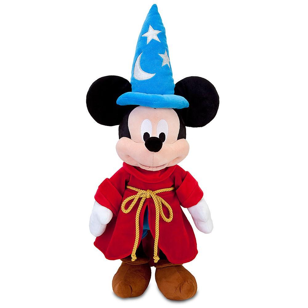 Disney XDIS008T 迪士尼 米老鼠 魔法師 米奇 絨毛 玩偶