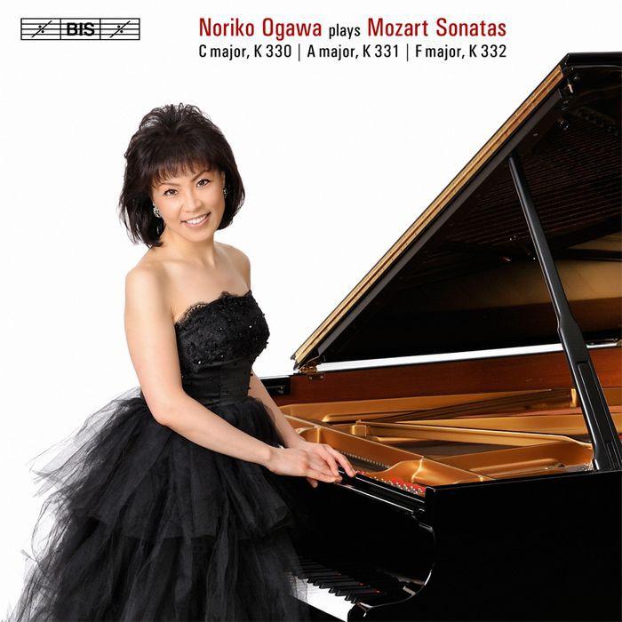 (BIS) 小川典子 莫札特 第10到12號鋼琴奏鳴曲 Ogawa Mozart Sonatas SACD1985
