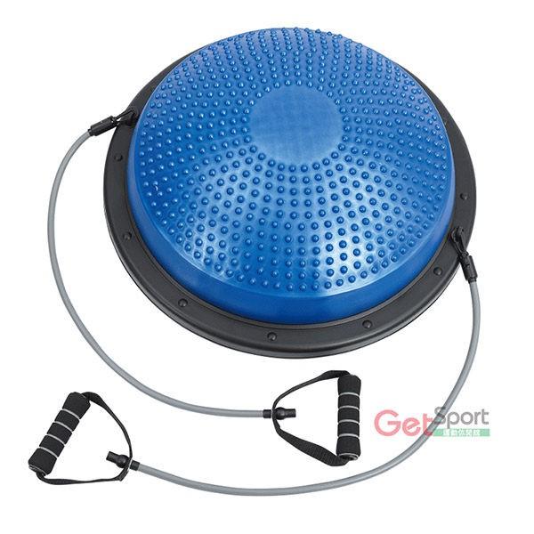 拉繩半圓平衡踏墊(Bosu Ball/半圓球/彈力繩踏墊/平衡球)