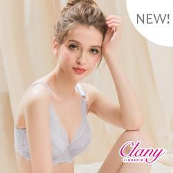 Clany可蘭霓 台灣製微乳排汗透氣C-F 加大下圍全罩杯內衣 (6958-61)