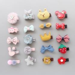 【2組10入】兒童髮夾 寶寶卡通髮夾 兒童髮飾蝴蝶結
