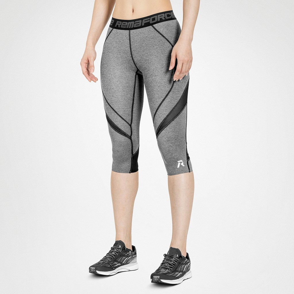Rema 重壓縮3/4七分褲/跑步訓練